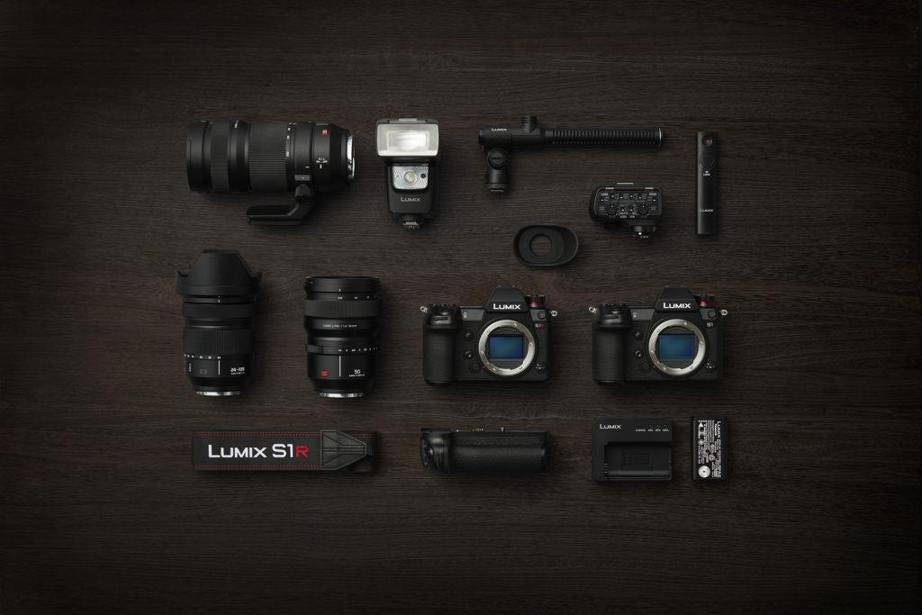 Lumix S1R kamera